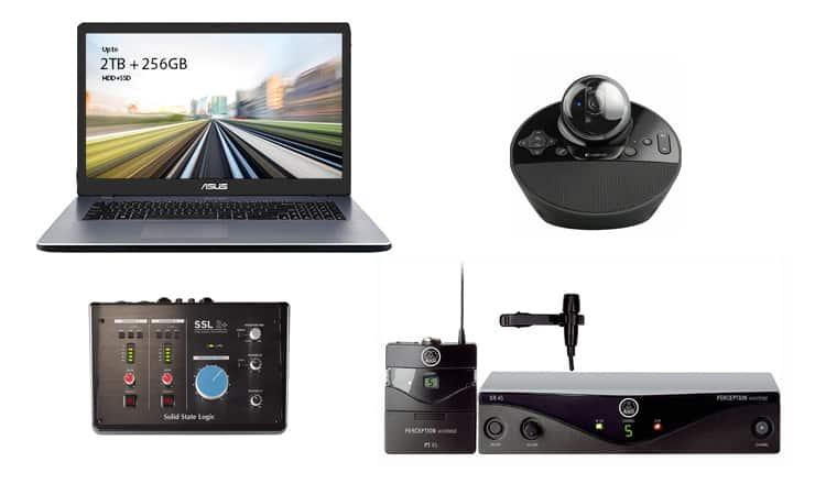 Das komplette und professionelle Video Konferenz Bundle für Ihre Zoom oder Google Meet Videokonferenz